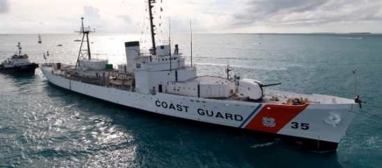 The historic Coast Guard cutter Ingham arrived Tuesday, Nov. 23, in Key West, Fla., after being towed to the island city from the Charleston area, where it had been a part of the Patriots Point Naval and Maritime Museum. In 1980, when 125,000 Cubans fled Mariel, Cuba, the Ingham was active in search-and-rescue missions in the Florida Keys and south Florida waters, rescuing refugees from swamped rafts, boats and refugee vessels. Now a registered National Historic Landmark, dedicated to Coast Guard personnel killed in action in World War II, Korea and Vietnam, the ship will serve Key West visitors and residents as a floating military museum.