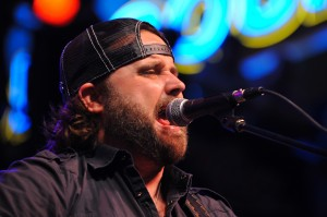 Vocalist Randy Houser Performing Live
