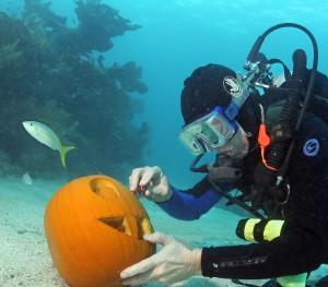 Underwater Pumpkins
